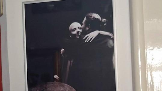 Rodinné foto Aničky Slováčkové s bratrem Felixem dojalo jejich maminku Dádu.