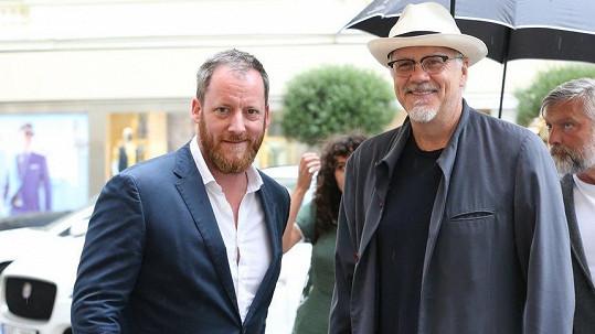 Tim Robbins je v Karlových Varech.