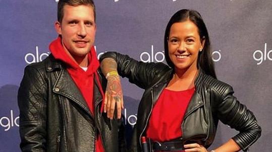 Martina Helis s manželem
