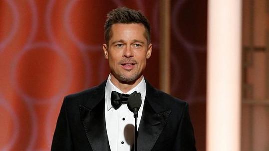 Brad Pitt byl překvapením Zlatých glóbů.