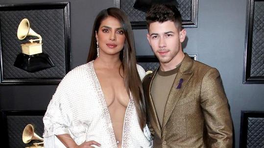 Nick Jonas a Priyanka Chopra