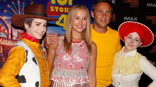 Manželé Petra a Roman Vojtkovi se poprvé po svatbě ukázali ve společnosti.