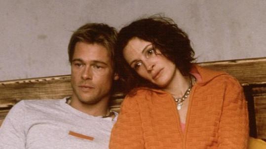Brad Pitt a Julia Roberts ve filmu Mexičan