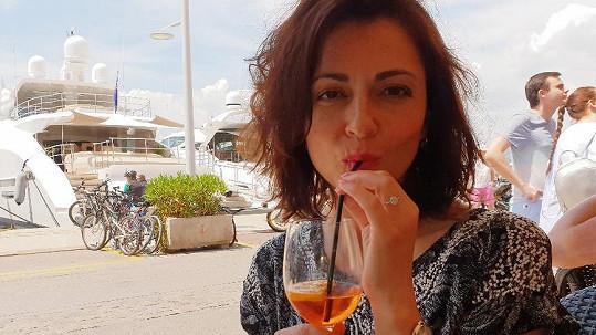 Moderátorka si užívala dovolenou na jihu Francie.