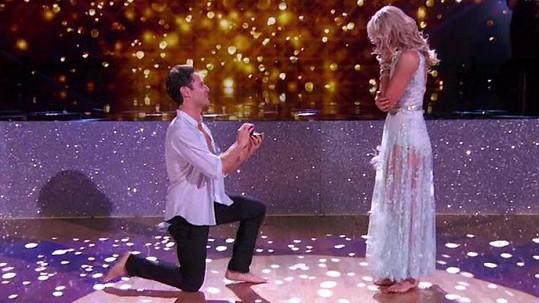 Po tanci došlo na žádost o ruku.