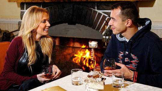 Michaela Ochotská si s Lukášem Rosolem užívala romantiku ve Vysokých Tatrách.