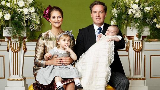 Princ Nicolas má za sebou křtiny.
