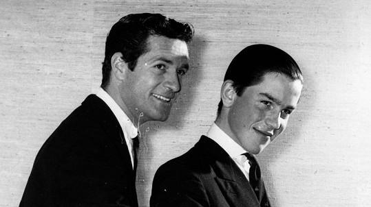 Hugh O´Brian (vlevo) s Rollem Fieldingem