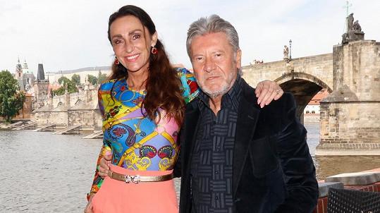 Sisa Sklovská s manželem