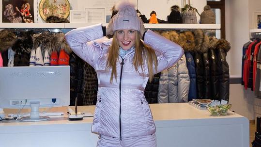Romana Pavelková utrácela za módu na lyže.