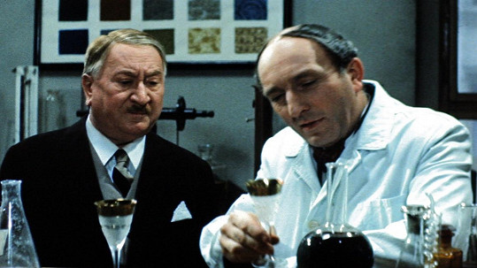 Jaroslav Marvan a Otakar Brousek st. ve filmu Vražda v hotelu Excelsior