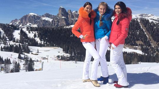 Královny krásy v Alpách