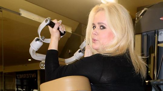 Monika Štiková prý pomohla Partyšové ke štěstí.