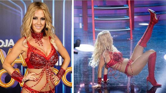 Slovenská moderátorka se změnila v americkou popovou princeznu.