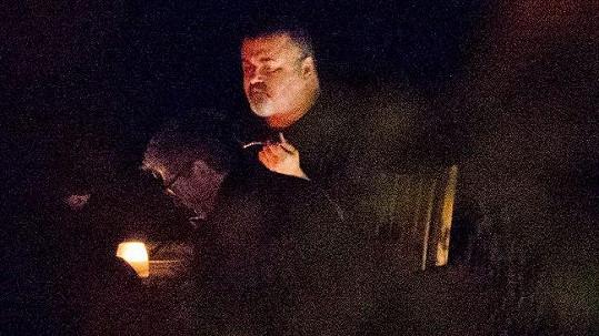 George Michael na fotografii z letošního září.