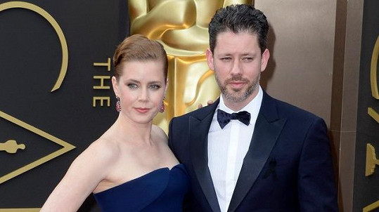 Amy Adams s manželem Darrenem Le Gallo