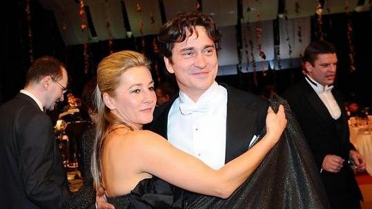 Saša Rašilov s manželkou Vandou Hybnerovou