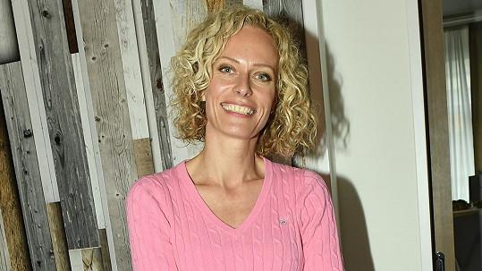 Kristina Kloubková je zamilovaná.