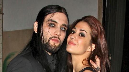 Weston Cage s manželkou Nikki.