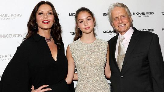 Catherine Zeta-Jones a Michael Douglas s dcerou Carys
