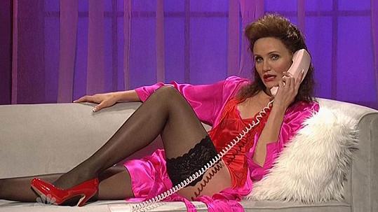 Cameron Diaz se převdedla ve sexy scénce.
