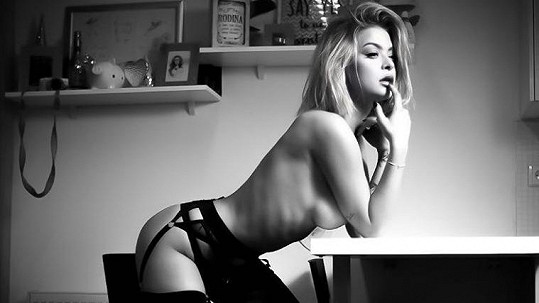 Kristýna Kubíčková pózovala na uměleckých sexy fotkách.