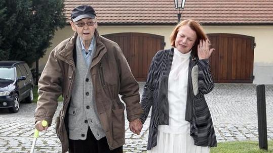 Stanislav Remunda a Iva Janžurová.