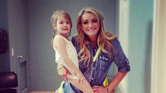 Maddie s maminkou Jamie Lynn