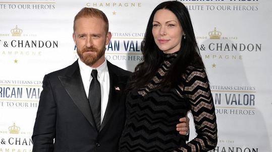 Laura Prepon s manželem Benem Fosterem