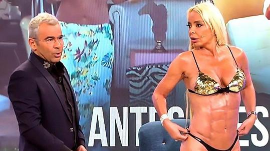 Španělská Madonna ukazuje svoje nové břišáky