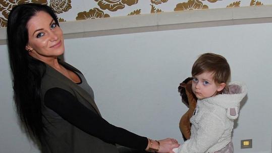 Andrea Pomeje s dcerou Aničkou