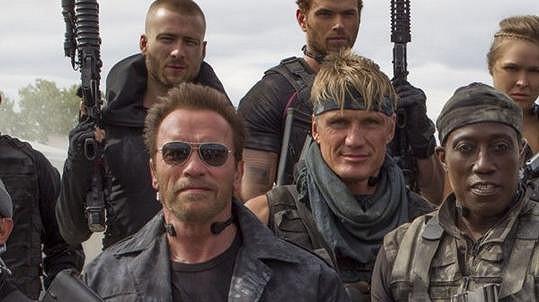 Herečtí kolegové z Expendables Schwarzenegger s Lundgrenem možná plánují další spolupráci...
