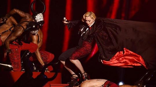 Madonna předvedla lepší show, než měla v plánu...