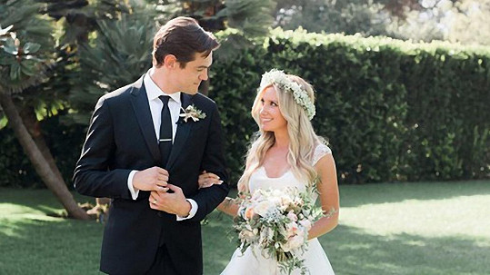 Ashley Tisdale si vzala za muže Christophera Frenche.