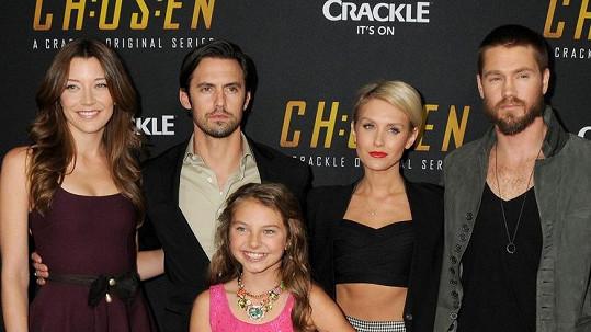 Chad Michael Murray v seriálu Chosen potkal obě své lásky.