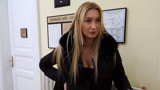 Dominika Mesarošová u soudu