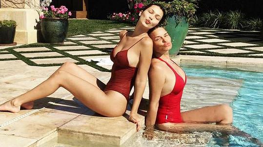 Bella Hadid s maminku Yolandou Foster