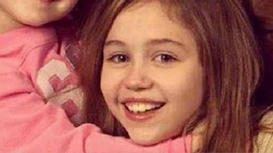 Miley jako malá holčička