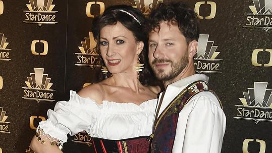 Daniela Šinkorová ve StarDance dotančila.