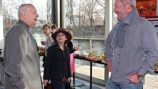 Antonín Kracik se Stanislavem Zindulkou a Alešem Hámou