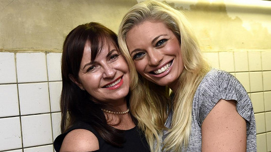 Lucie s maminkou Alenou