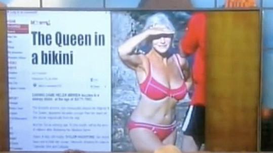 Tato fotka Helen Mirren se v roce 2008 stala hitem.