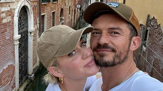 Orlando Bloom a Katy Perry