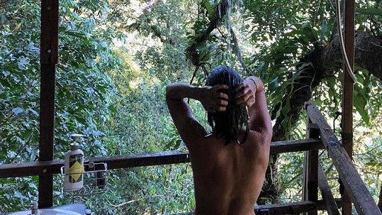 Takhle Tereza Voříšková dbá na hygienu v srdci džungle.