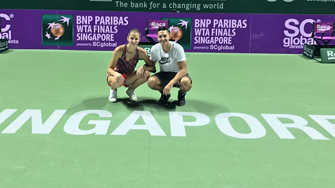 Proti homosexualitě se ale. vítězka dvou turnajů WTA.