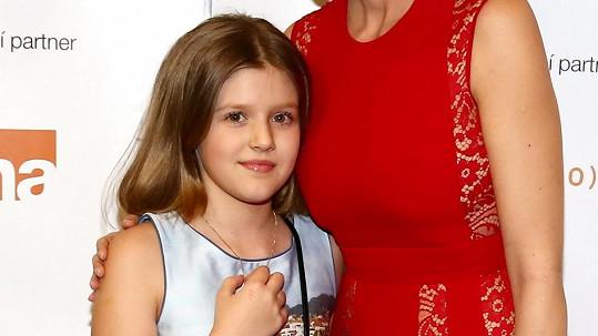 Iva Kubelková konečně ukázala dceru Natálii.