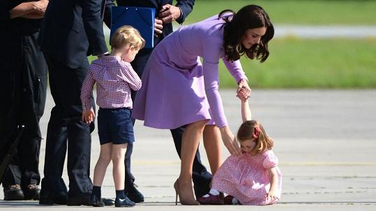 Vévodkyně Kate bude mít plné ruce práce.