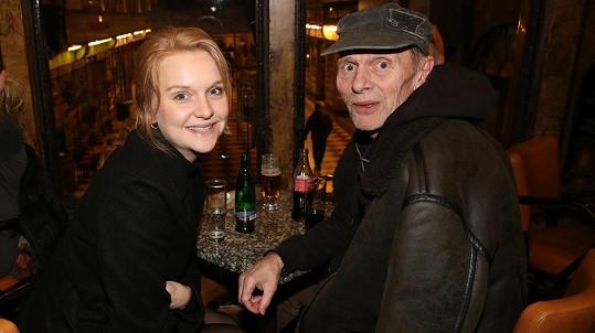 Jiří Schmitzer s dcerou