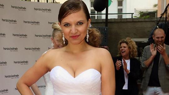 Andrea Košťálová je čerstvě zamilovaná.