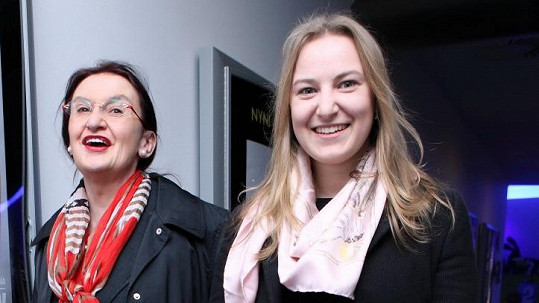 Eva Holubová s dcerou Karolínou